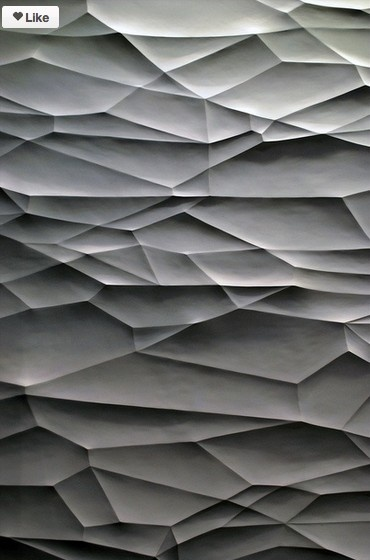 Texture, folded paper creases