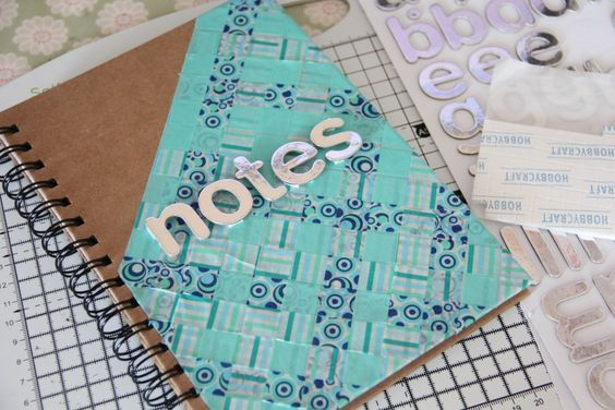 Perfect DIY Decorated Notebook