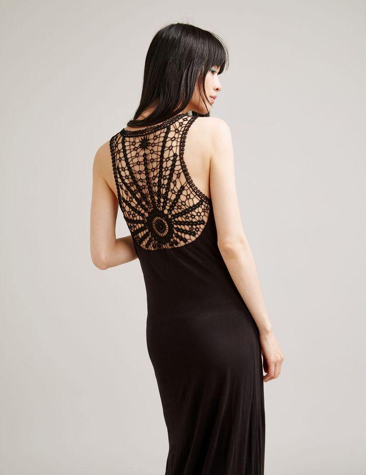 jennyfer - robe longue tube noire