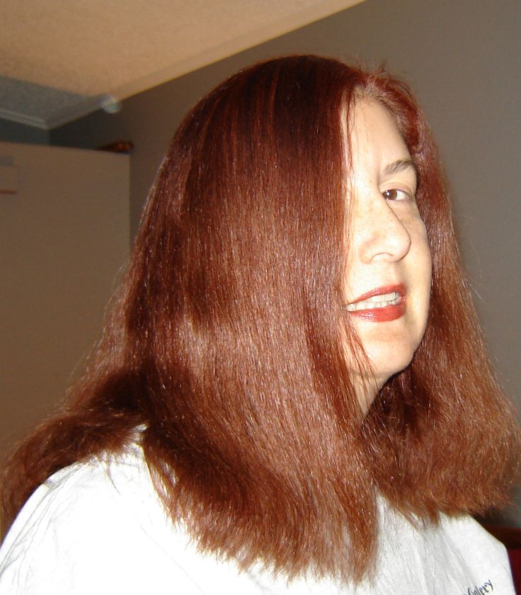 It took me 2 years to make a red brown hair color that even remotely looks natural on my grey hair. This is Age Beautiful from Sally  1 2/3 oz 7 N, 1 2/3 oz 6RC, 2 1/2 tsp red (to cut the orange in the copper and give it a richer look). Fill to 7 1/2 with 10 or 20 peroxide.  I use 10 because I am not lightening. I leave on 35 min. after 25 I pull it all the way through after adding about 50% shampoo to the mix to the mix.  I love the shine and the coverage that Age  Beautiful gives…