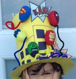 Easter hat #superheroes