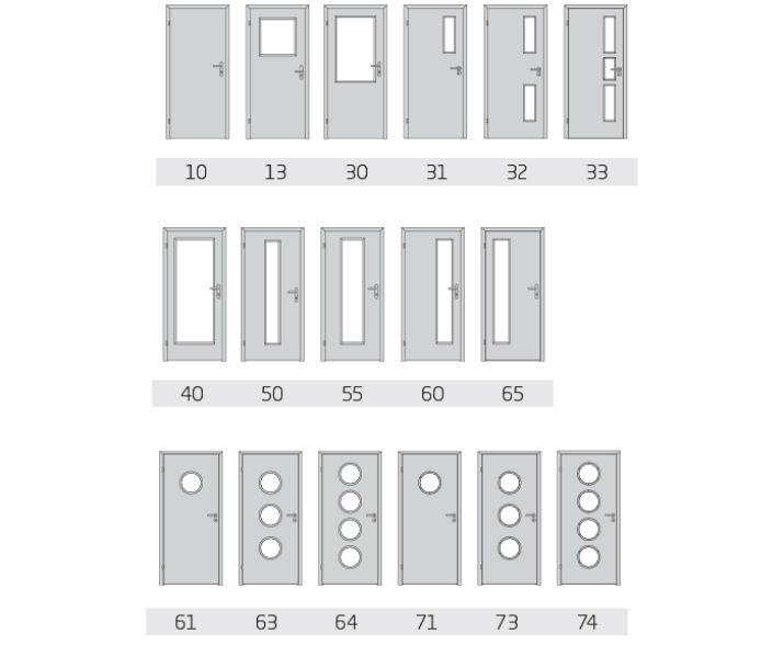 Elegant Komfort - typ 10 do dětského a ložnice