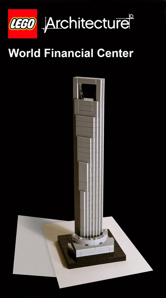 The Lego version of our Shanghai World Financial Center ...