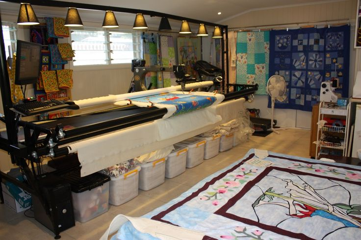 1000 Images About Long Arm Quilting Studio Ideas On
