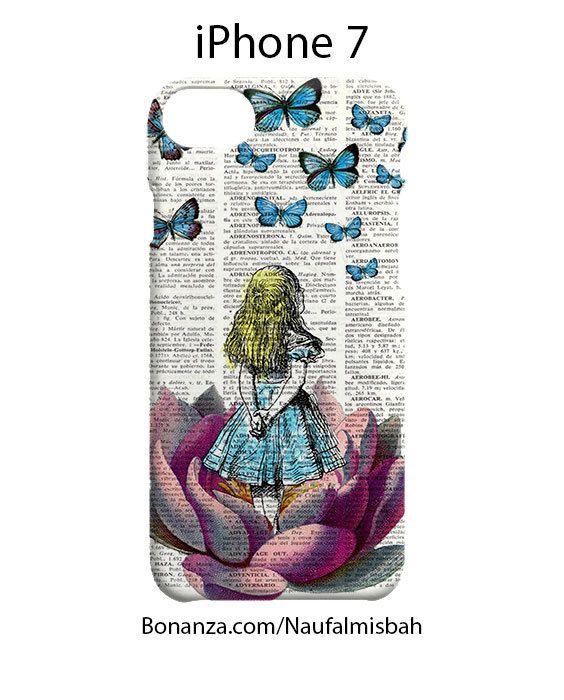 Alice in Wonderland iPhone 7 Case Cover Wrap Around