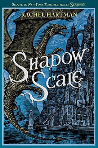 """Shadow Scale (Seraphina, #2) by Rachel Hartman. Seraphina took the literary world by storm with 8 starred reviews and numerous """"Best of"""" lists. At last, her eagerly awaited sequel has arrived—and with it comes an epic battle between humans and dragons."""