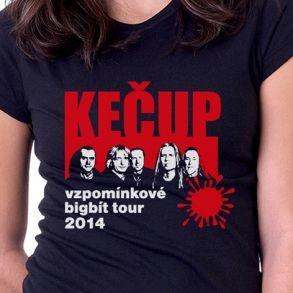 tričko Kečup vzpomínkové tour