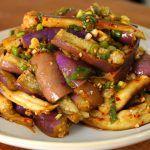 Eggplant side dish (Gaji-namul) recipe - Maangchi.com