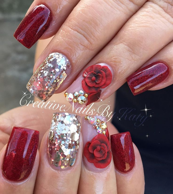 97 best uñas images on Pinterest | Nail scissors, Cute nails and ...