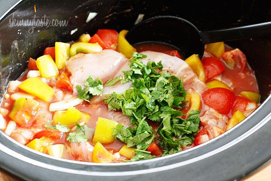 Crock Pot Chicken a la Criolla - was very good. I doubled the recipe ...
