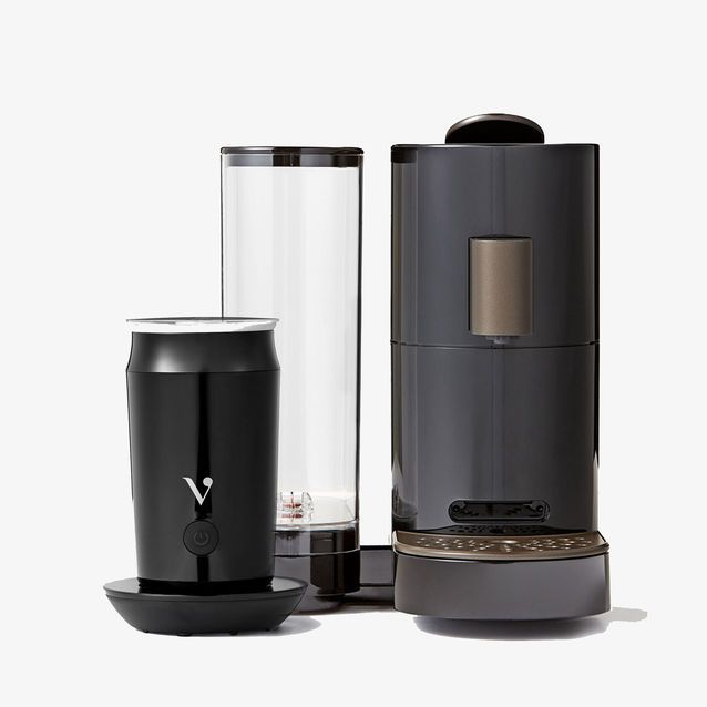 Get them together for delicious drinks. The Verismo<sup>®</sup> V Brewer and the Verismo<sup>®</sup> Milk Frother are the perfect combination for making your favourite Starbucks<sup>®</sup> beverages at home. This specially priced bundle includes everything you need to start making brewed coffee, espresso, lattes, cappuccinos and more.