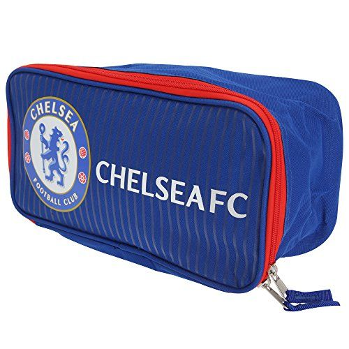 Chelsea FC Official Fade Football Crest Sports Shoe/Boot Bag (One Size) (Blue)