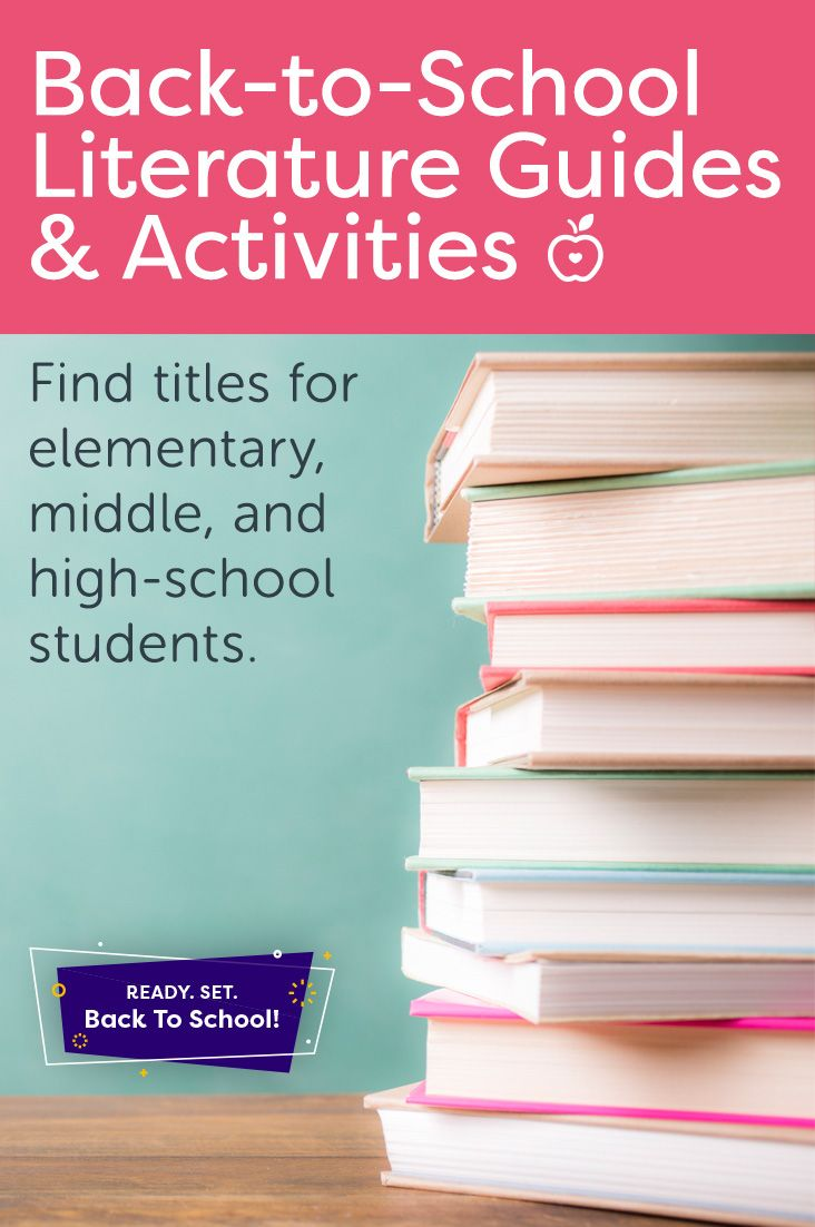 Make your first lessons of the 2017-2018 school year relevant with these literature guides focused on back-to-school icebreakers, elections, and more. You will find titles appropriate for elementary, intermediate, and high-school students. (Grades K-12)