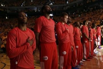 #Clippers Stage Silent #Protest to Owner | The Afro-American Newspapers | Your Community. Your History. Your News.