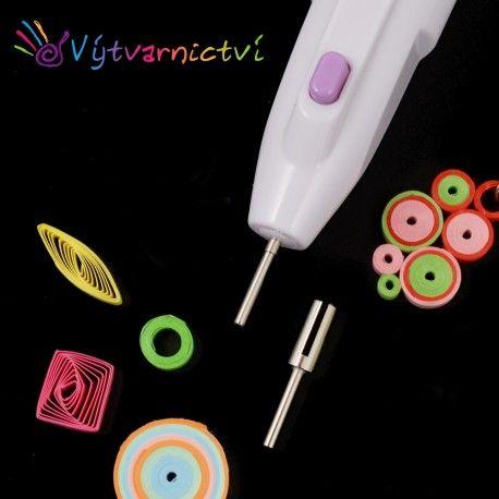 Electric quilling pen, elektrické quillingové pero
