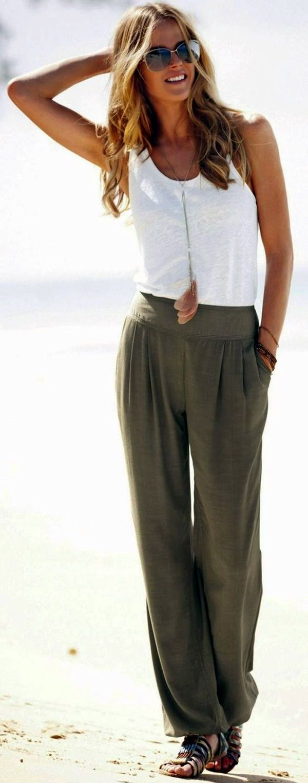 What to wear with palazzo pants (Chic Ideas)