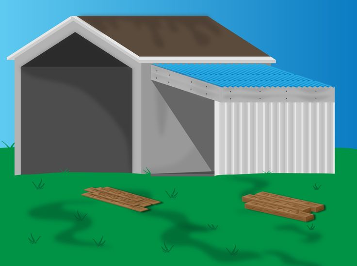 When your shed or other storage building no longer provides enough room, you can add additional storage if you add a lean-to onto a shed. If the existing shed is structurally sound and has an exterior wall to which you can attach your...