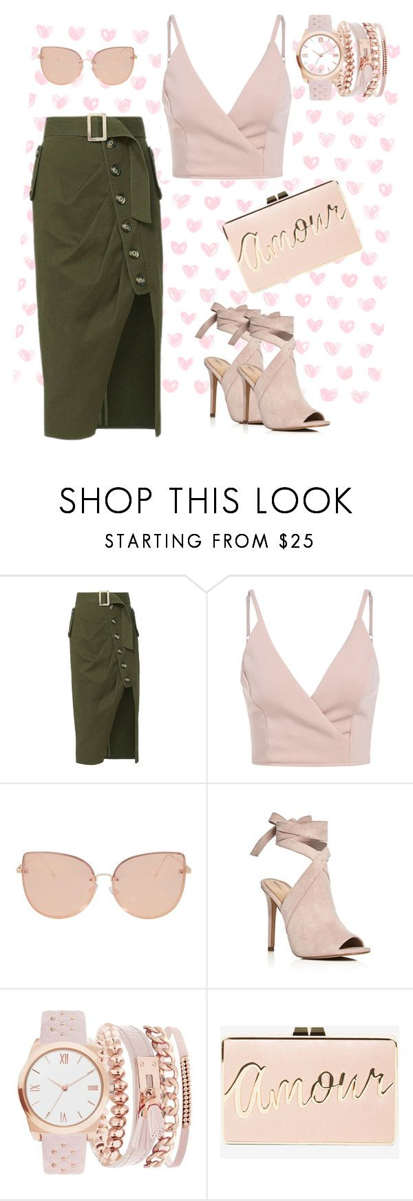 """""""on the town"""" by mushie97 ❤ liked on Polyvore featuring self-portrait, Topshop, Kendall + Kylie, A.X.N.Y. and BCBGMAXAZRIA"""
