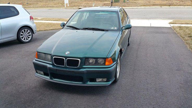 Cool Great 1997 BMW M3 Sedan 1997 M3 SEDAN RARE M3/4/5 BOSTON GREEN/BLACK SLICKTOP 68K 5MT DS-2 VIN TAGS 2017 2018