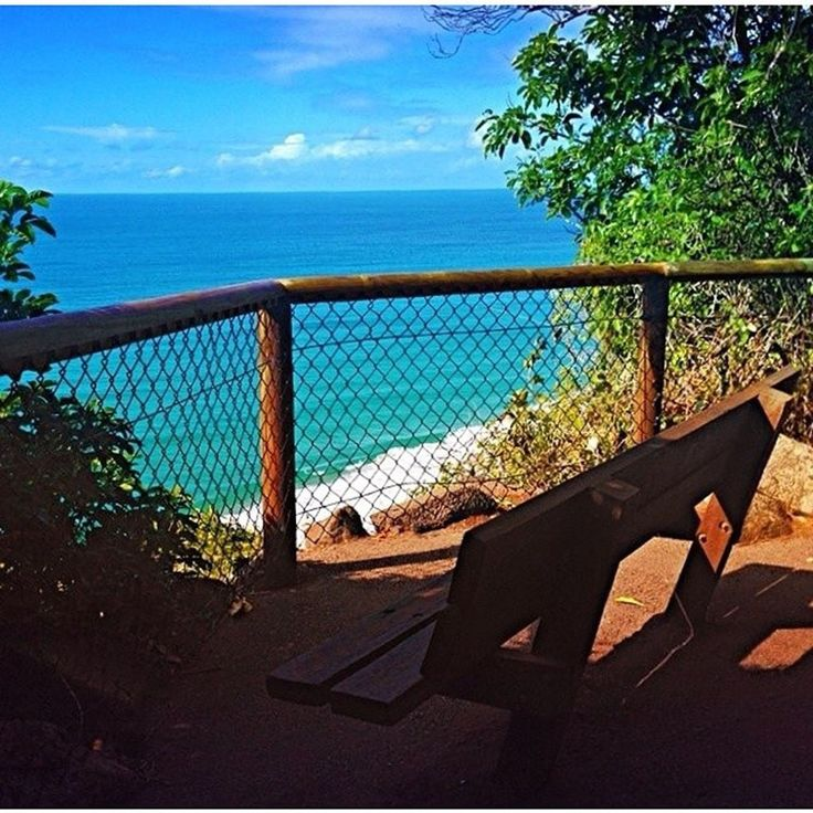 You can still get a glimpse of the sea, like this view from the Burleigh Heads.