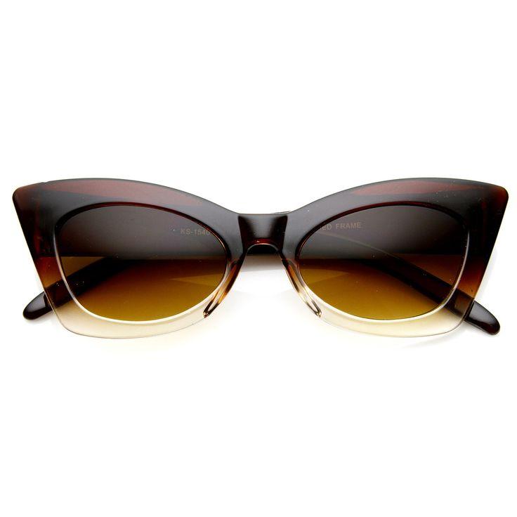 1950's Womens Retro Fashion Cat Eye Sunglasses 8936 from zeroUV