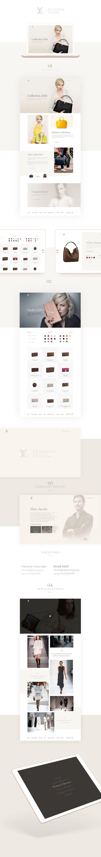 Louis Vuitton I Revamping Website on Behance