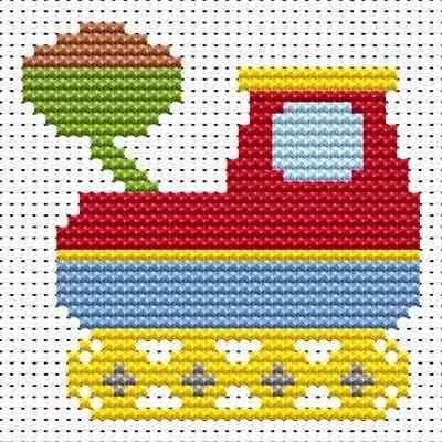 tractor cross stitch patterns - Pesquisa Google