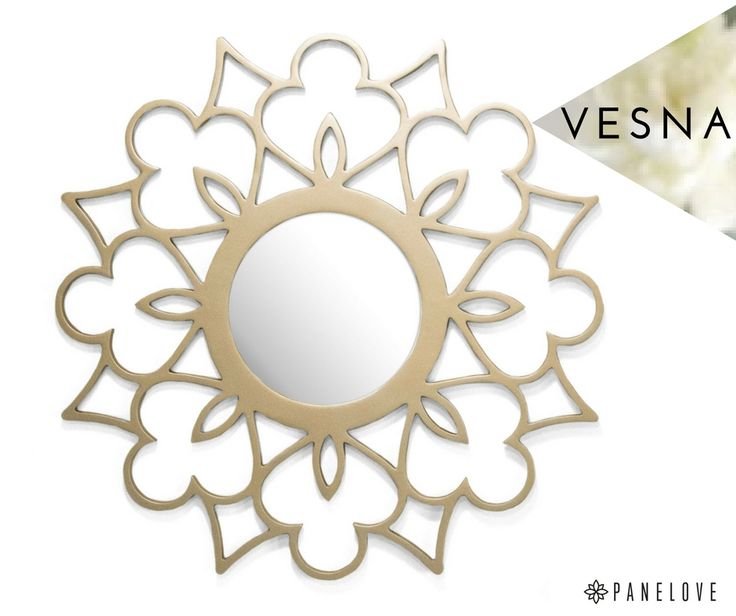 Meet Vesna - beautiful & elegant mirror for flower design lovers