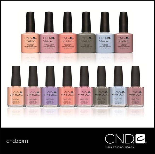 Sneak peak of the CND Shellac & Vinylux Spring 2015 range ❤️ love it #cndshellac #shellac #spring2015 #nails manicure #pedicure #hands #beautyblog #beautytips #beautyblogger #lovenails #london #canarywharf #aspasiabeauty Book a shellac manicure now info@aspasiabeauty.co.uk