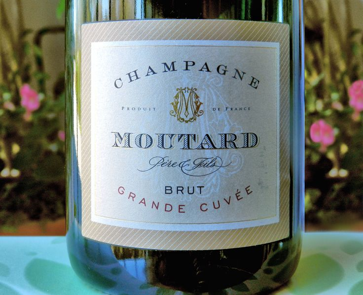 Champagne Moutard - A birthday gift from a great friend and a lovely drop!  Nice crisp, citrus notes; mouth filling and delicious.  My first taste from this house; but hopefully not my last.