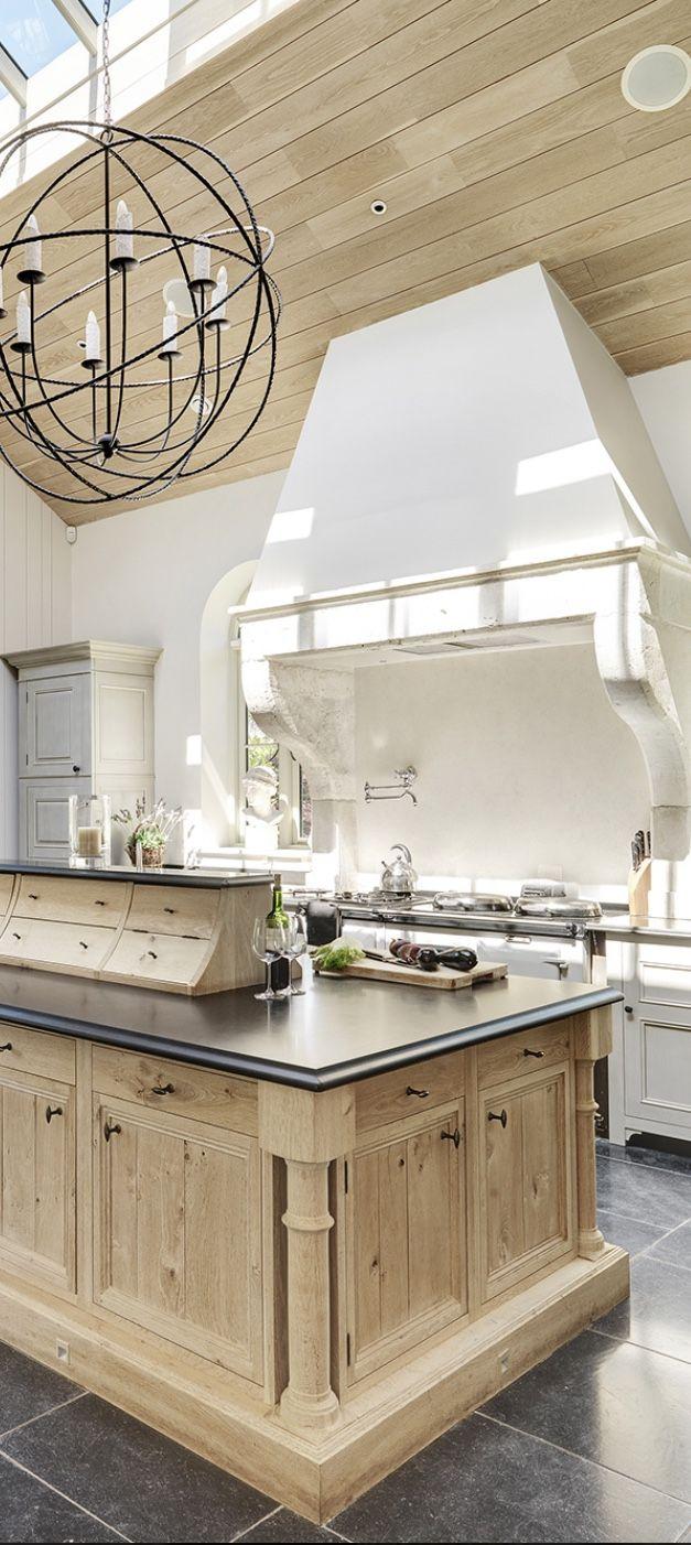 668 best Kitchens images on Pinterest | Beautiful kitchen, Beautiful ...