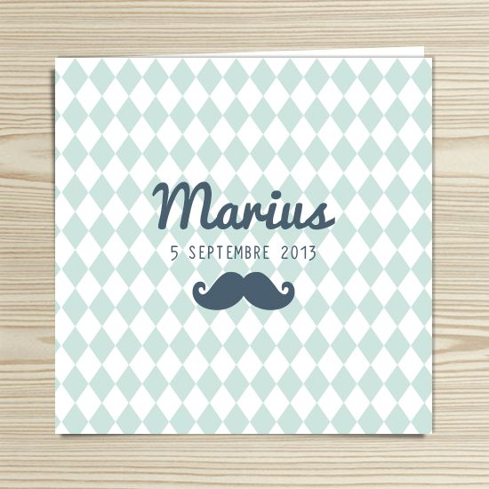 Tannilou - Faire-part naissance MARIUS