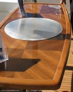 CND teppanyaki grill cook top integrated into custom-made marine grade teak table. Phantastic! cookndine.com