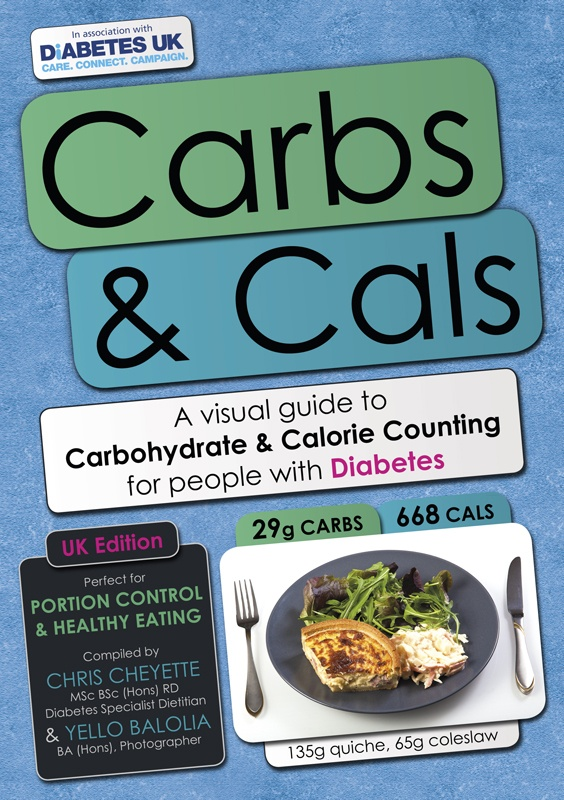 The Carbs & Cals book is a visual guide to carbohydrate ...