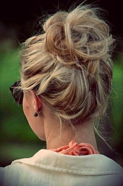 How to Chic: MESSY BUN