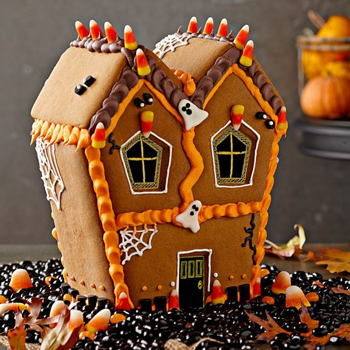 williams sonomas haunted gingerbread house kit - Halloween Gingerbread Cookies