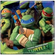 TMNT Lunch Plates Pkt8 $7.95 A511194