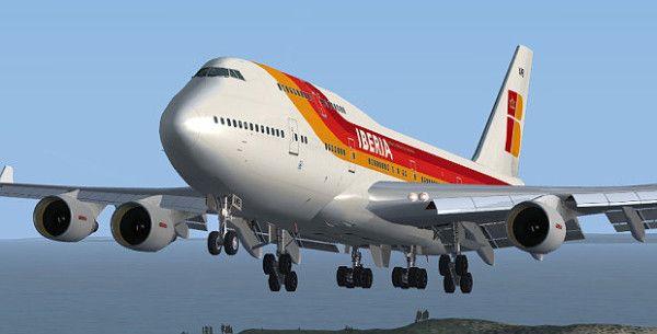 Iberia B747-412 - http://simrepaints.envaldemoro.com/iberia-b747-412/