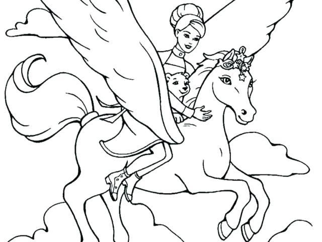 Barbie Horse Coloring Pages Barbie Horse Coloring Page Barbie Riding Horse Coloring Pages Hello Kitty Coloring Horse Coloring