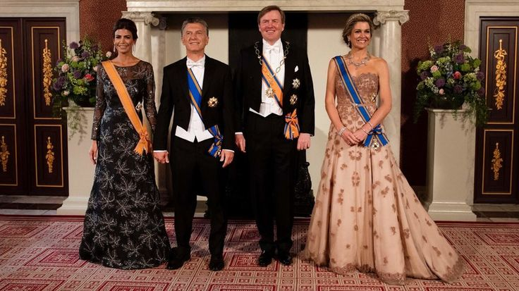 Maandagavond zit de eerste dag van het staatsbezoek van Argentinië erop.