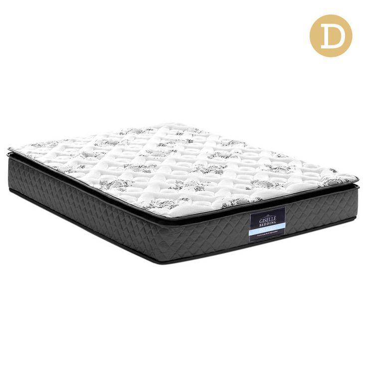 Double Size High Density Foam Pillow Top Mattress | Buy Double Bed Mattress