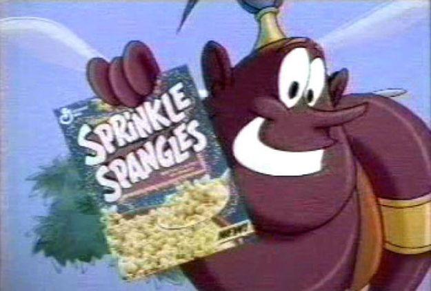 The Genie Sprinkle Spangles Disney Sprinkles And Aladdin