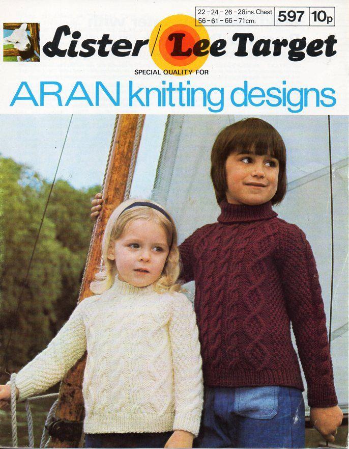 188 best vintage baby children aran knitting patterns knit childrens childs aran sweaters knitting pattern pdf crew polo roll neck aran jumper 22 dt1010fo
