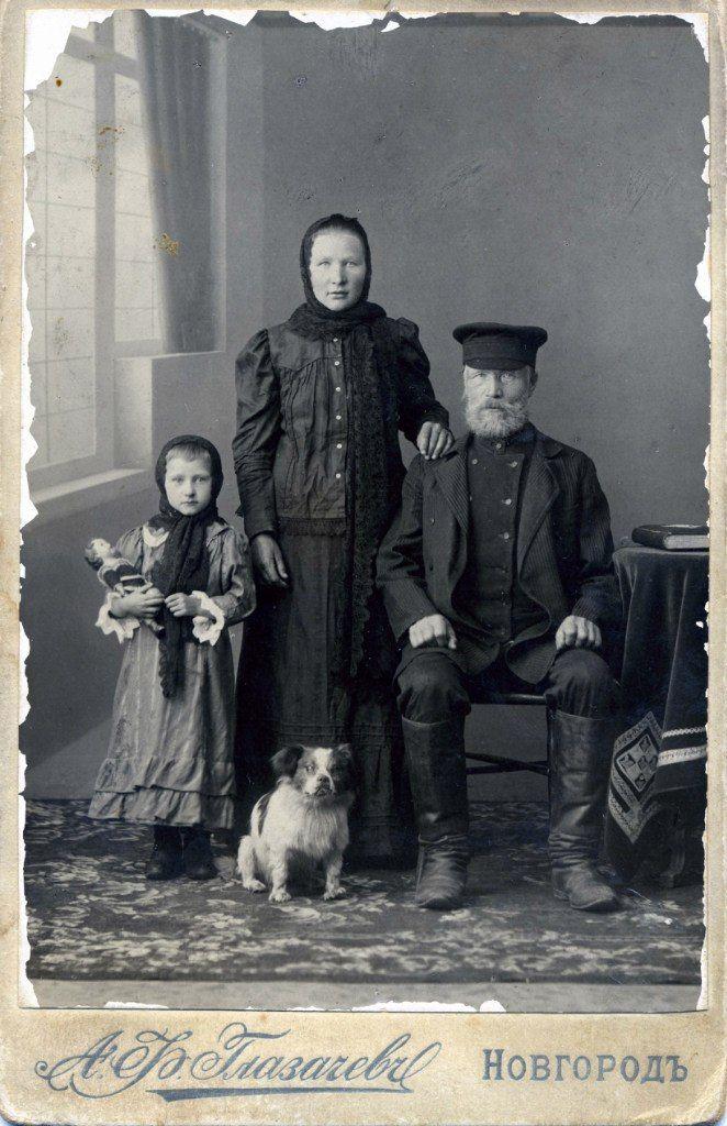 Новгородцы на фотографиях А.Ф. Глазачёва – 161 фотография