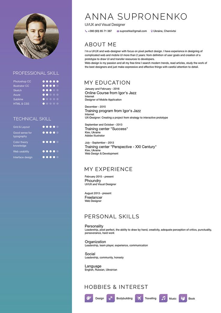 best online cv design