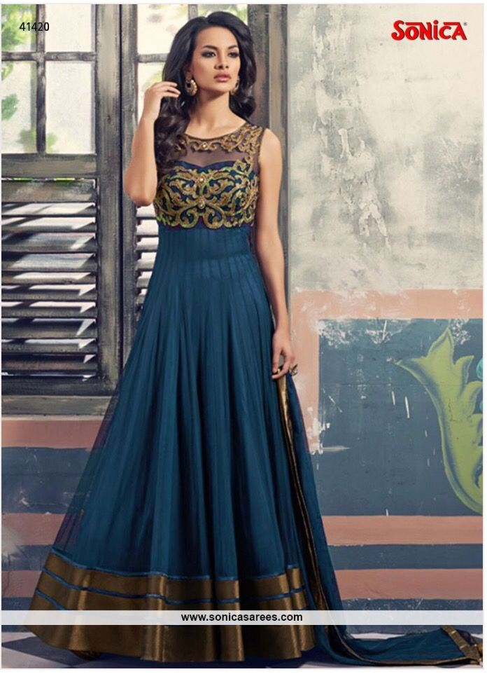 Link to buy this: http://www.sonicasarees.com/salwar-suits?catalog=3661 Price Rs 3398/-