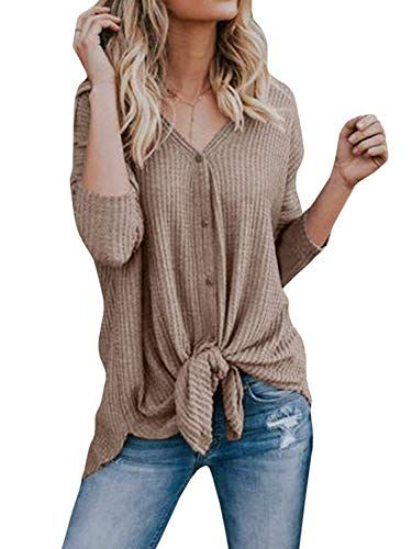 587b0c8ddae The perfect Les umes Womens Cardigans Casual Lightweight V Neck Long Sleeve  Cardigan Sweaters Buttons online.   19.58  topstorehits from top store