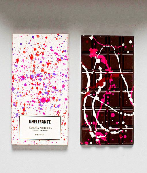 Chocolates | UNELEFANTE #pink #chocolate #packaging