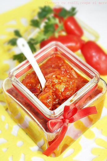 Chutney..ce-mi mai place !!!! Exista cateva diferente intre chutney,sos si zacusca . Chutney este o combinatie de fructe si legume,...