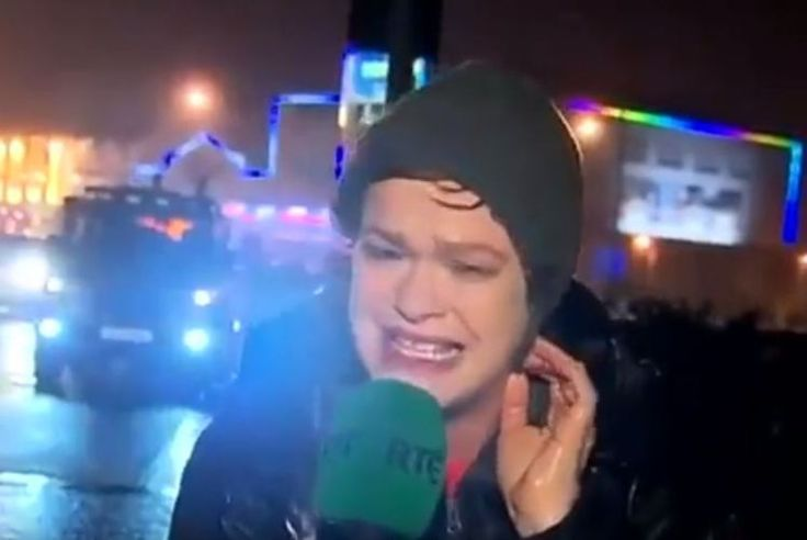Teresa Mannion keeping everyone safe in a storm